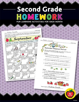 Second Grade Homework: Fun Learning Activities for Each Month
