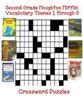 Houghton Mifflin Reading Second Grade  Vocabulary Crossword Puzzles Themes 1-6