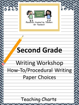 Second Grade How-To/Procedural Writing Paper (Lucy Calkins Inspired)