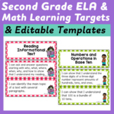 Second Grade I Can Statements (Common Core Learning Target