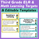 Third Grade I Can Statements (Common Core Learning Targets