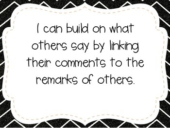 """Second Grade """"I Can"""" Statements LAFS & Common Core Speaking & Listening"""