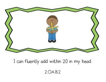 I Can Statements - Second Grade - Mathematics