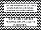 Second Grade I Can Statements -- NC Music -- Black Chevron