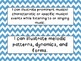 Second Grade I Can Statements -- NC Music -- Blue Chevron