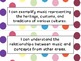 Second Grade I Can Statements -- NC Music -- colored dots