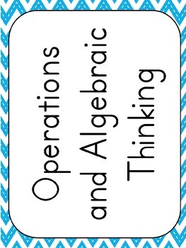 """Second Grade """"I Can"""" Statements for Math EDITABLE!"""