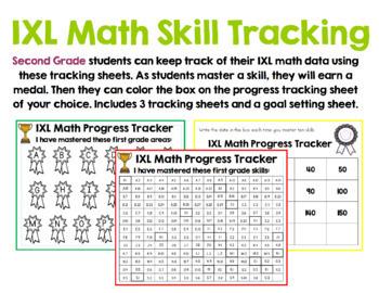 Second Grade IXL Tracking Bundle