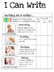 Second Grade Illustrated Narrative Writing Checklist