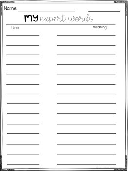 Second Grade Information Writing Paper Pack