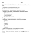 Second Grade Informational (Nonfiction) Writing: Animal Report Packet