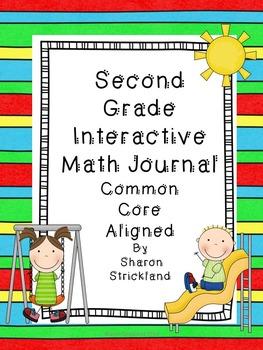 Second Grade Interactive Math Journal-Common Core Aligned