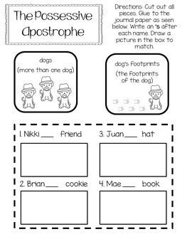 Second Grade Interactive Notebook - ALL Language (Grammar) Standards