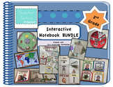 Second Grade Interactive Notebook BUNDLE: Core Knowledge F
