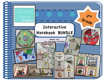Second Grade Interactive Notebook BUNDLE: Core Knowledge