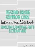 Second Grade Interactive Notebook {ELA Literature CCSS}