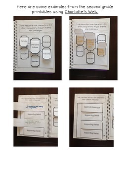 Second Grade Interactive Notebook {ELA Literature CCSS}