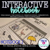 Second Grade Interactive Notebook Week 2: Short Vowels, Compare and Contrast