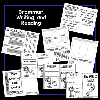 Short Vowels, Compare and Contrast Interactive Notebook