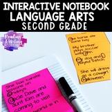 Second Grade Interactive Notebook: Language Arts