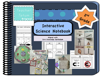 Second Grade Interactive Science Notebook: Core Knowledge