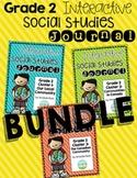 Second Grade Interactive Social Studies Journal - Bundle {