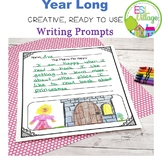 Year-Long Writing Prompts {Second Grade}