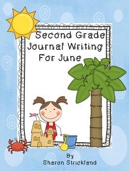 Second Grade Journal Writing for June