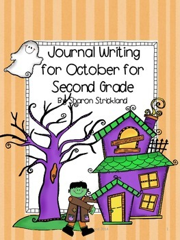 Second Grade Journal Writing for October