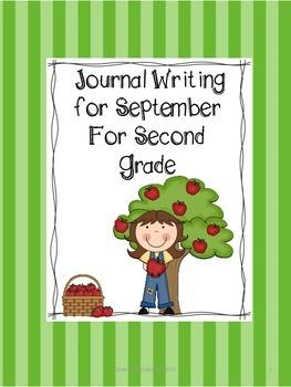 Second Grade Journal Writing for Sepetmber