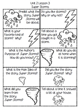 Second Grade Journey's Daily Writing Prompts - Unit 2
