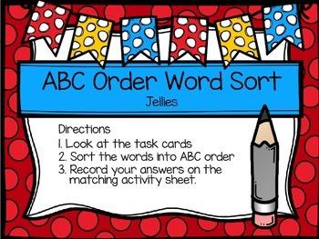 Second Grade Journey's Spelling Centers - Jellies
