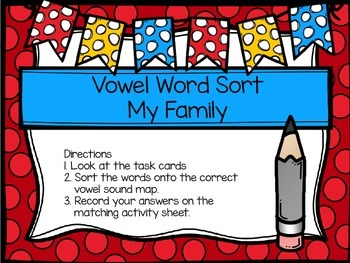 Second Grade Journey's Spelling Centers and Activities - My Family