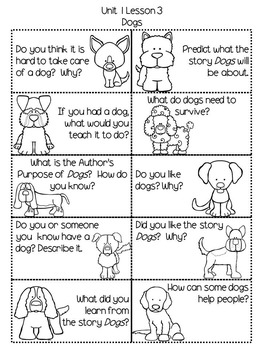 Second Grade Journey's Daily Writing Prompts - Unit 1