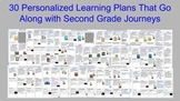 Second Grade Journeys Personalized Learning Plans for Less