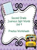 Second Grade Journeys Sight Words Unit 4