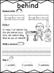 Second Grade Journeys Sight Words Unit 5