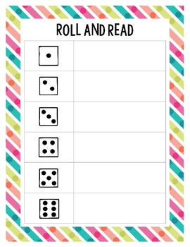 Second Grade Journeys Spelling Word Roll and Read