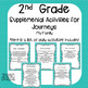 Second Grade Journeys Lesson 2 My Family Supplemental Activities Differentiated