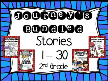 Second Grade Journey's Supplementals Bundled Stories 1-30