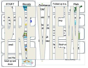 Second Grade Journeys Unit 6 Vocabulary Dominoes Bundle