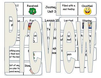 Second Grade Journeys Vocabulary Dominoes/ Domino Workshops Unit 4 Bundle