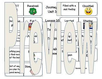 Second Grade Journeys Vocabulary Unit 4 Lesson 16 Mr. Tane