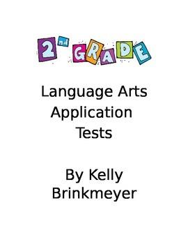 Second Grade Language Arts Application