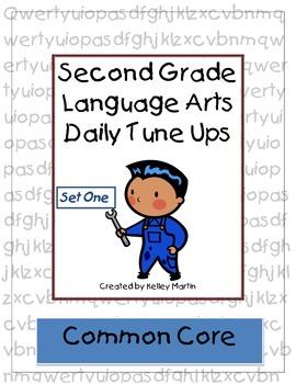 Second Grade Language Arts Daily Tune Ups (Morning Work)