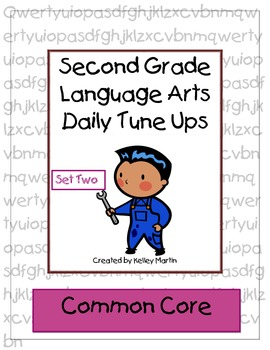 Second Grade Language Arts Daily Tune Ups Set Two (Morning Work)