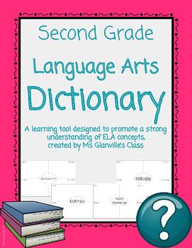 Second Grade Language Arts Dictionary