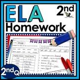 Second Grade Language Arts Homework - 2nd Quarter