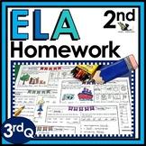 Second Grade Language Arts Homework - 3rd Quarter