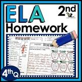 Second Grade Language Arts Homework - 4th Quarter